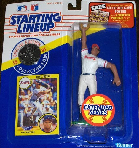 David Justice 1991 Extended Series Starting Lineup