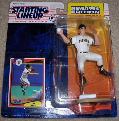 1994 Jay Bell MLB Starting Lineup Figure Pittsburgh Pirates