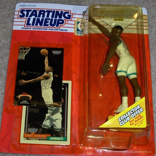 Larry Johnson 1993 Starting Lineup Charlotte Hornets