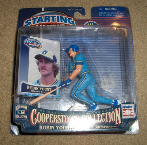 Robin Yount Starting Lineup 2 Cooperstown Collection Milwaukee Brewers
