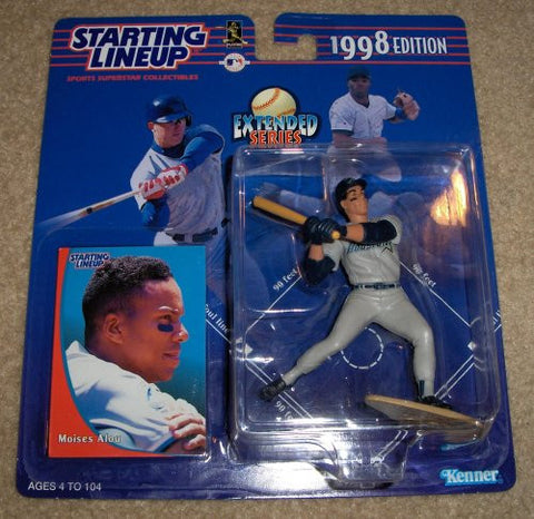 1998 Moises Alou Starting Lineup Houston Astros Extended Series