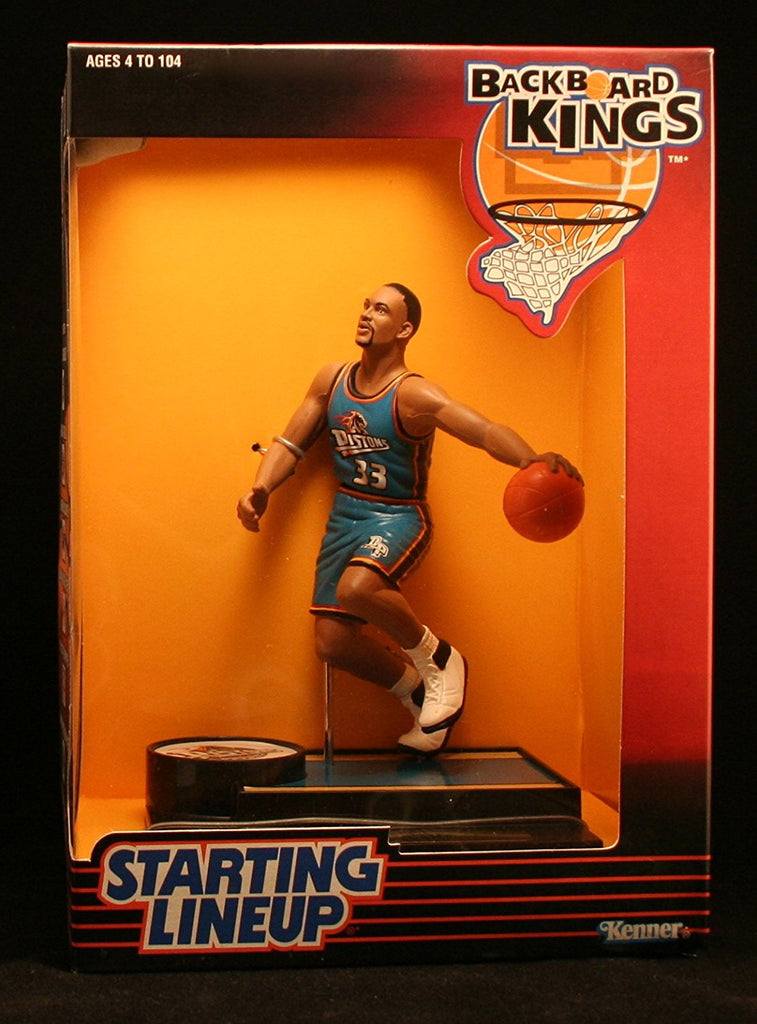 1997 NBA Starting Lineup Backboard Kings - Grant Hill - Detroit Pistons