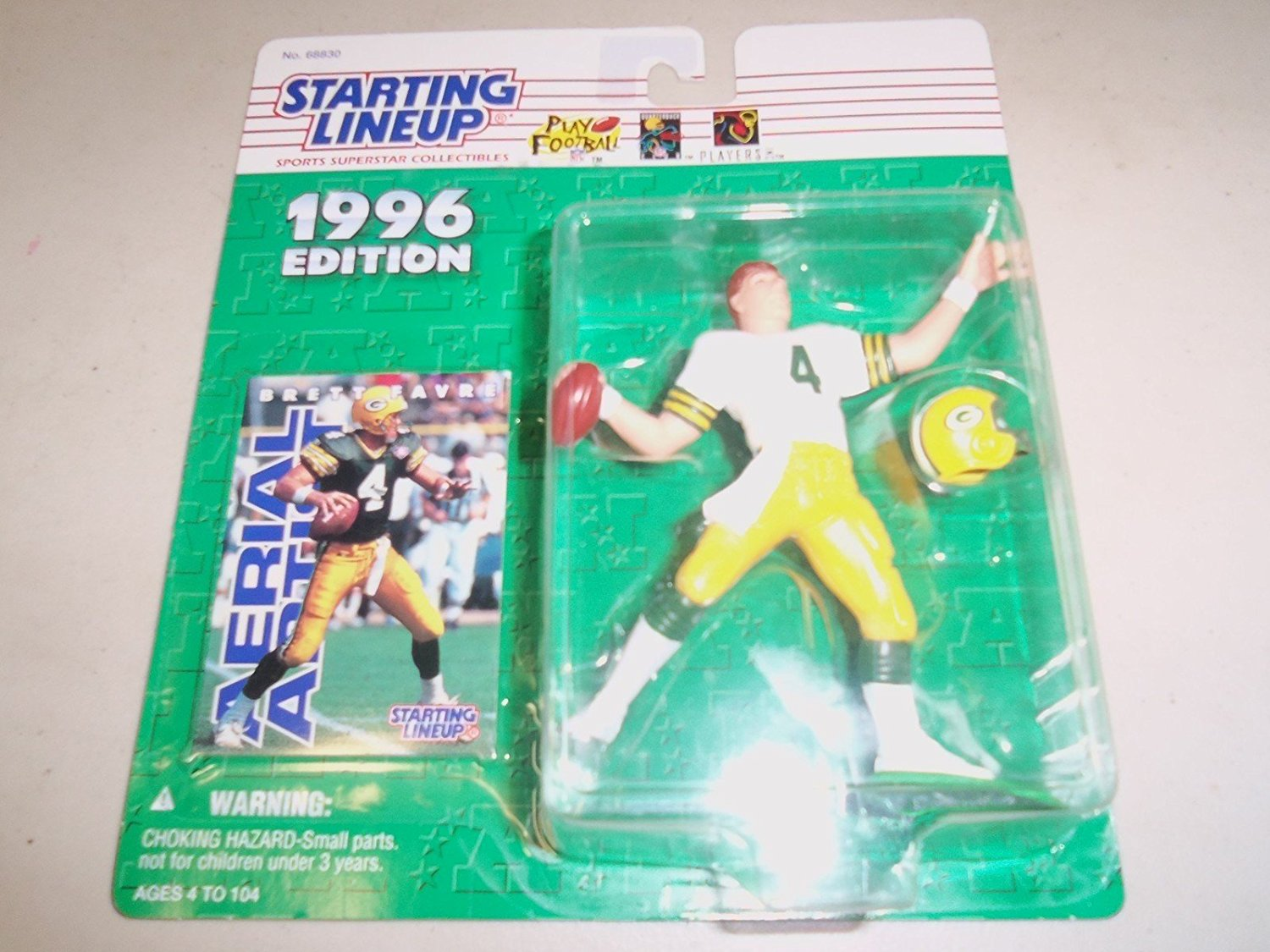 1996 NFL Starting Lineup - Brett Favre - Green Bay Packers