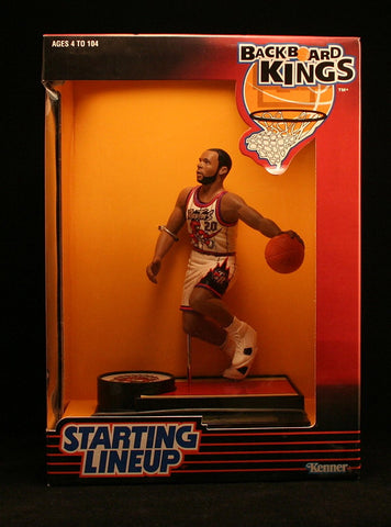 DAMON STOUDAMIRE / TORONTO RAPTORS 1997 NBA Backboard Kings Starting Lineup Deluxe 6 Inch Figure