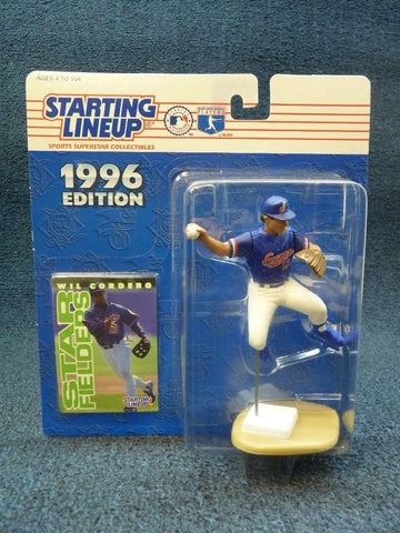 1996 Wil Cordero MLB Starting Lineup Montreal Expos