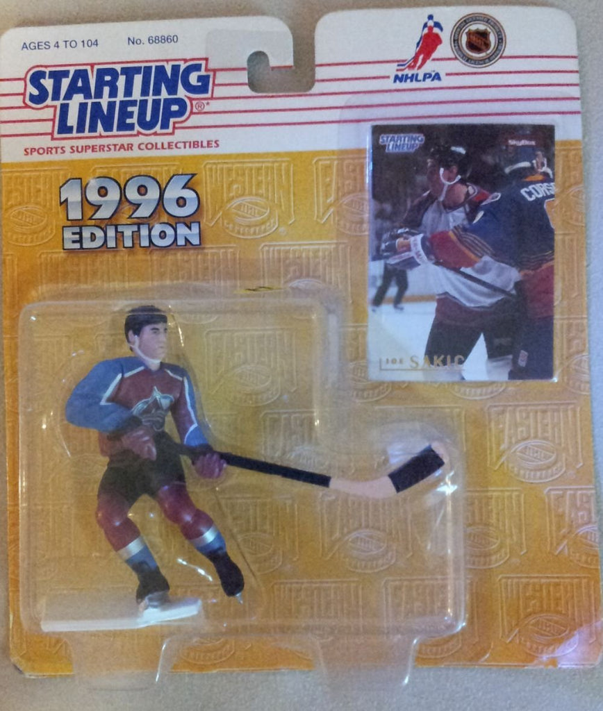1996 Joe Sakic NHL Starting Lineup