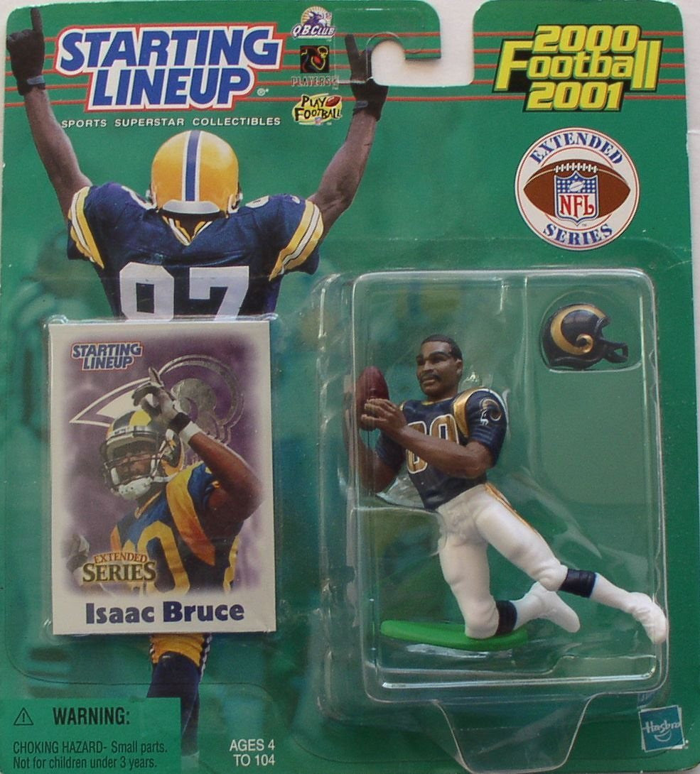 Starting Lineup 2000/2001 Isaac Bruce St. Louis Rams Action Figure