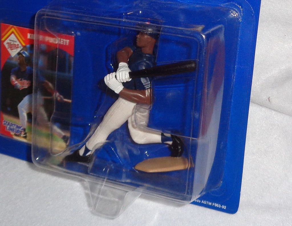 1995 Starting Lineup MLB Kirby Puckett #34 - Minnesota Twins - Vintage Action Figure - w/ Trading Card - Limited Edition - Collectible