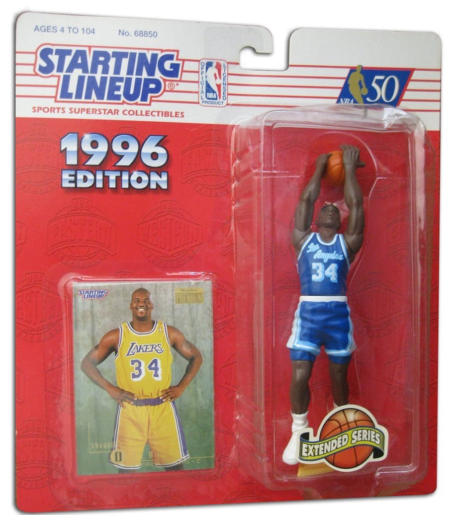 1996 Shaquille O'Neal NBA Extended Series Starting Lineup