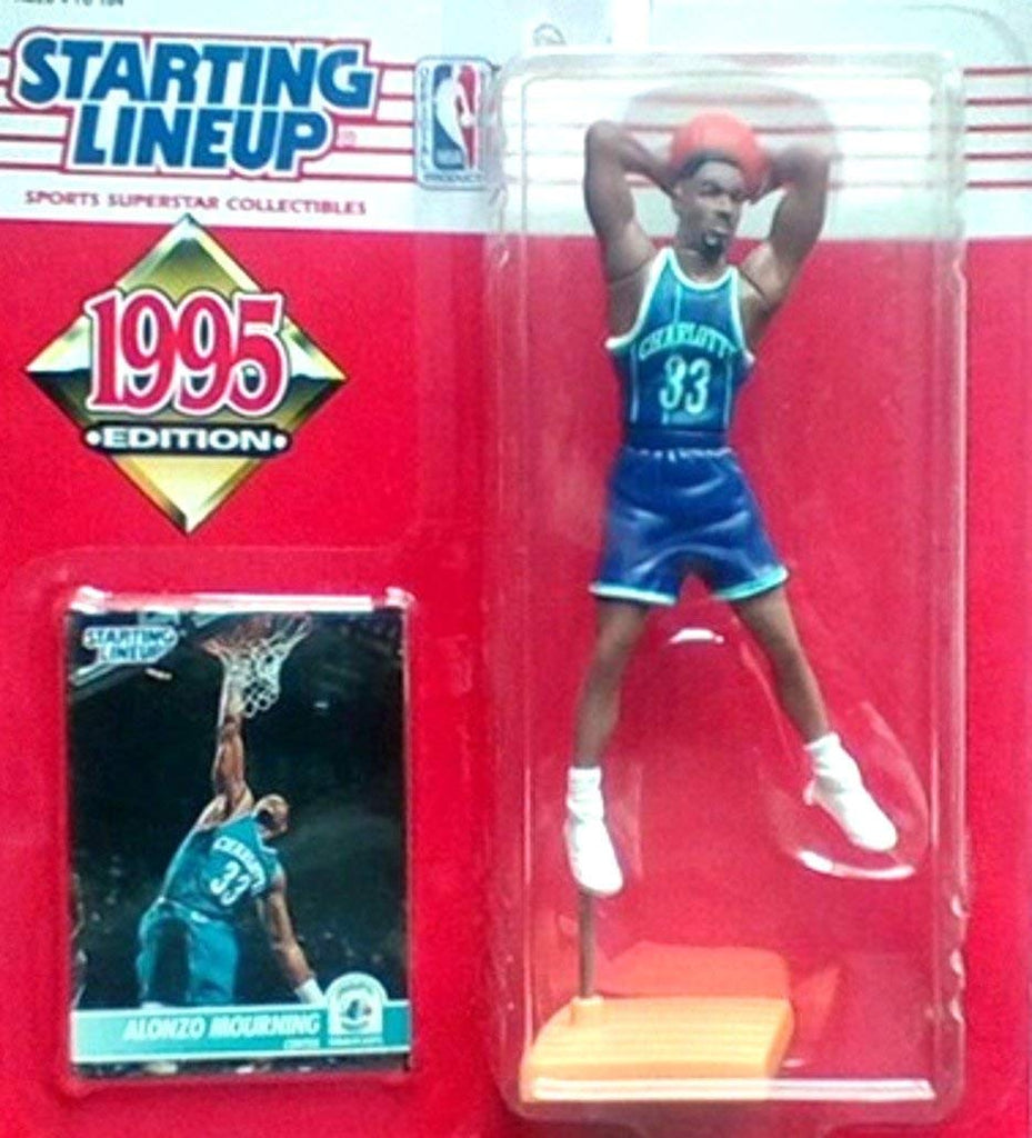 1995 Alonzo Mourning NBA Basketball Starting Lineup