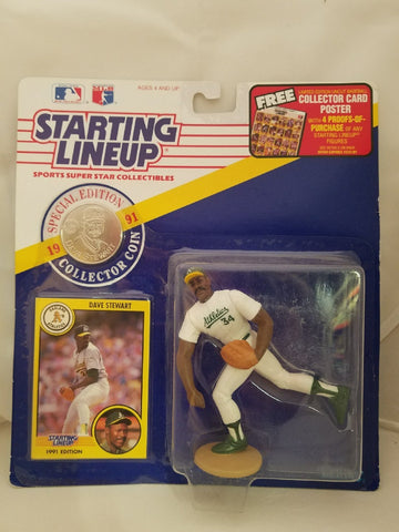 1991 Dave Stewart Starting Lineup Oakland Athletics Special Edition