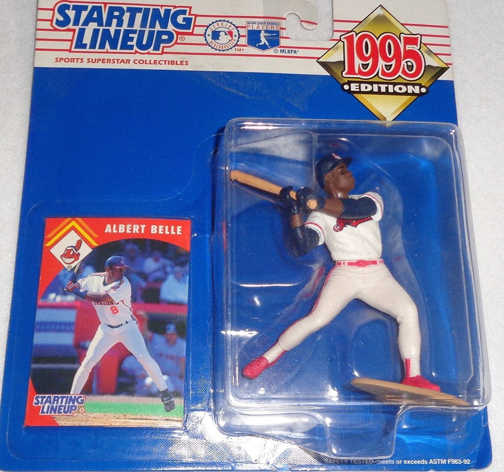 1995 Albert Belle MLB Starting Lineup Cleveland Indians