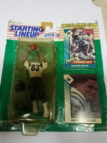 Anthony Miller 1993 Starting Lineup Figure with Trading Card