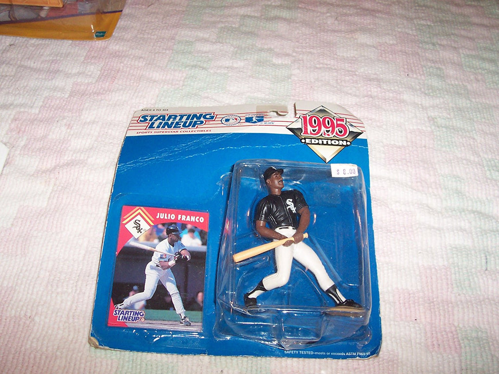 1995 Julio Franco MLB Starting Lineup Figure Chicago White Sox