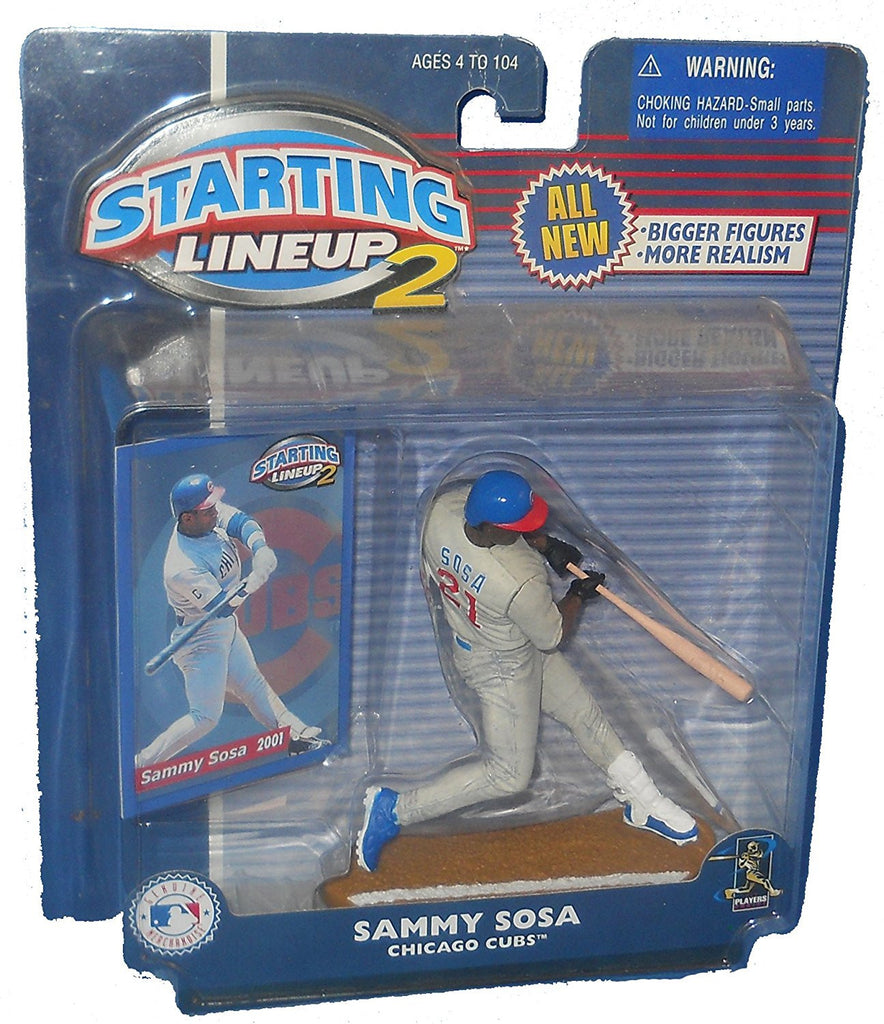 Starting Lineup 2 Sammy Sosa Chicago Cubs Action Figure