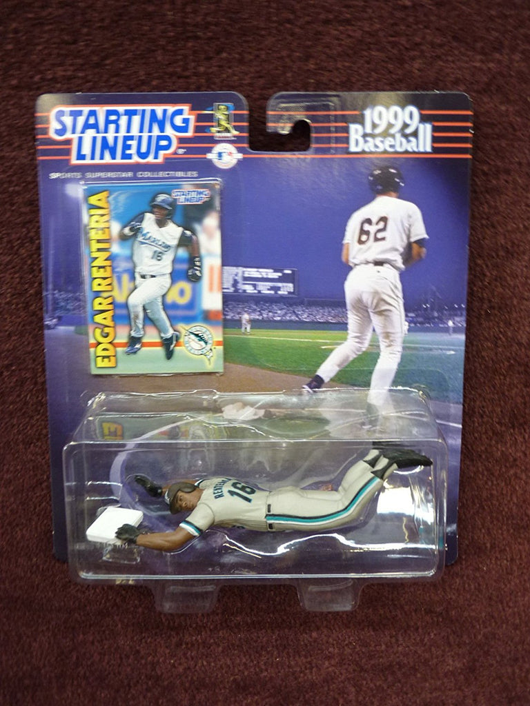 1999 Edgar Renteria Starting Lineup Figure Florida Marlins