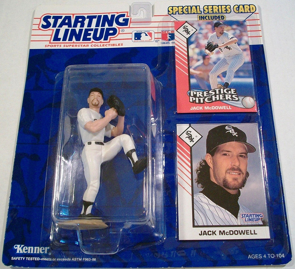 1993 Jack McDowell MLB Starting Lineup Chicago White Sox