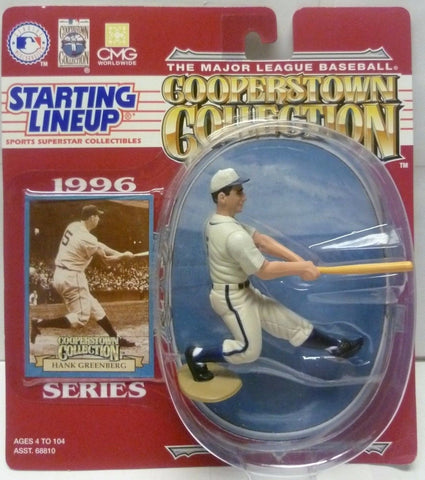 1996 HANK GREENBERG - Starting Lineup - ``COOPERSTOWN``  Figurine -Detroit