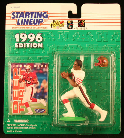 1996 Jerry Rice NFL Starting Lineup Figure