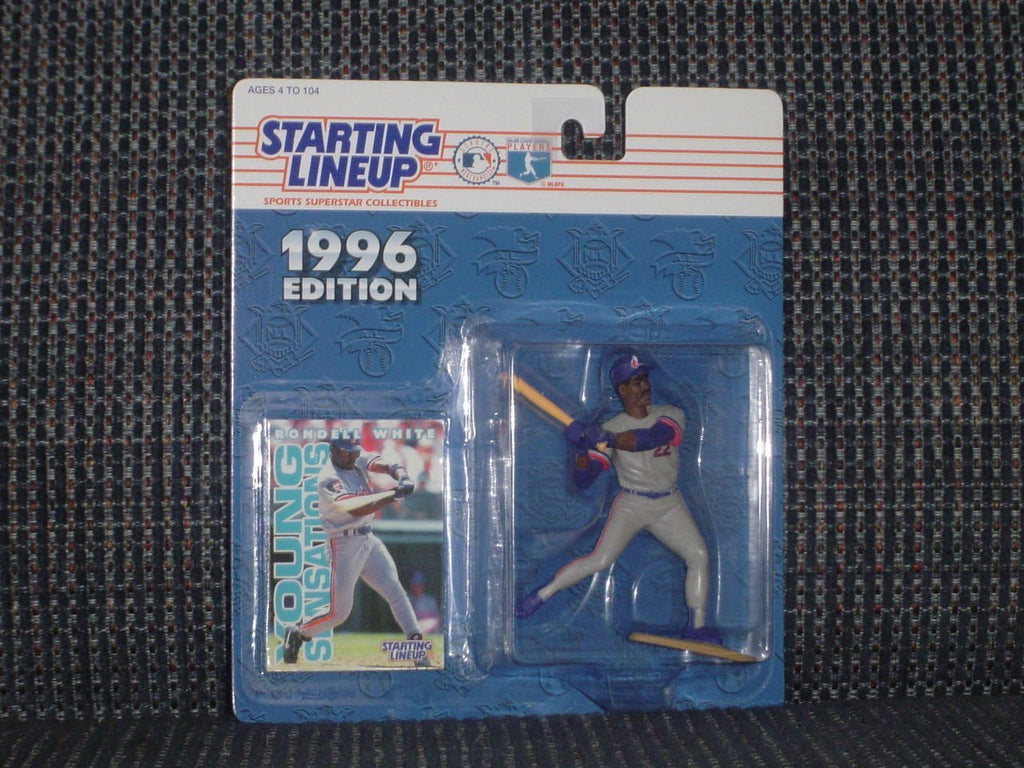 1996 Rondell White MLB Starting Lineup Figure Montreal Expos