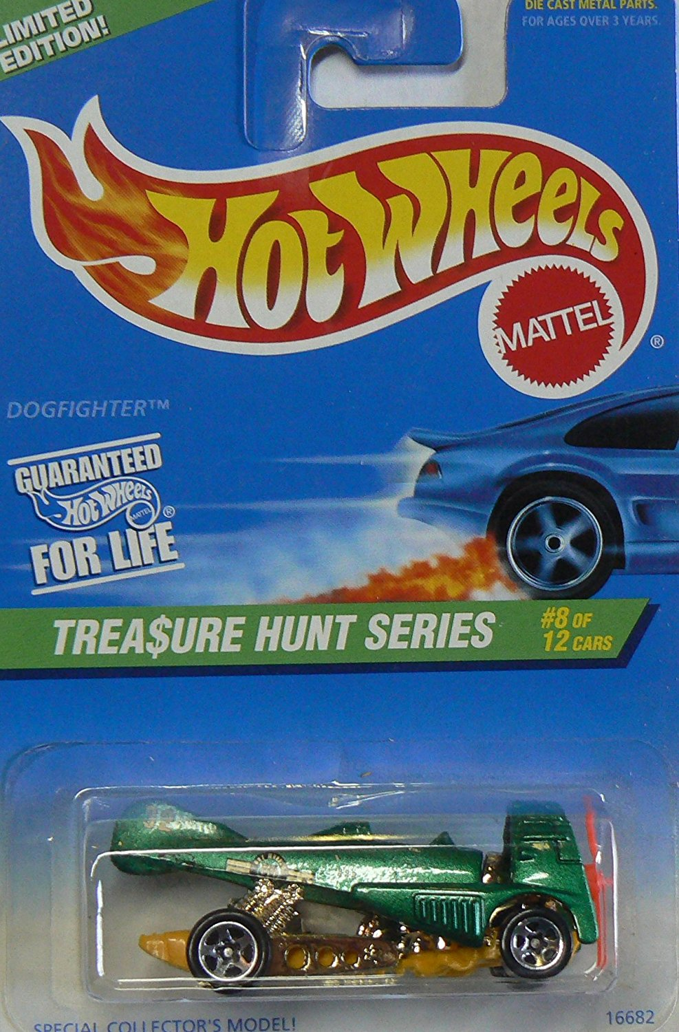Hot Wheels Treasure Hunt Series Dogfighter #8 of 12, #585