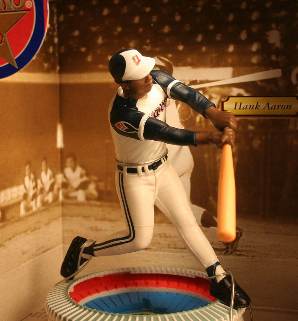 1997 MLB Starting Lineup Cooperstown Collection Stadium Stars - Hank Aaron