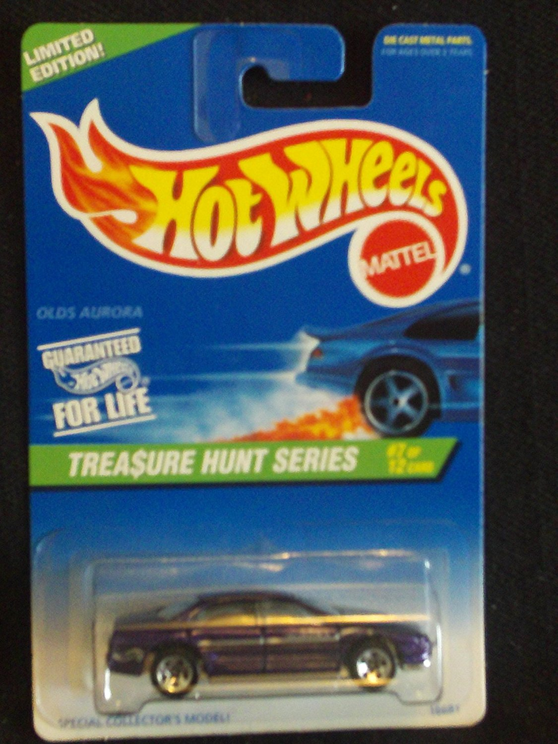Hot Wheels 1997 Treasure Hunt Series 7/12 Olds Aurora