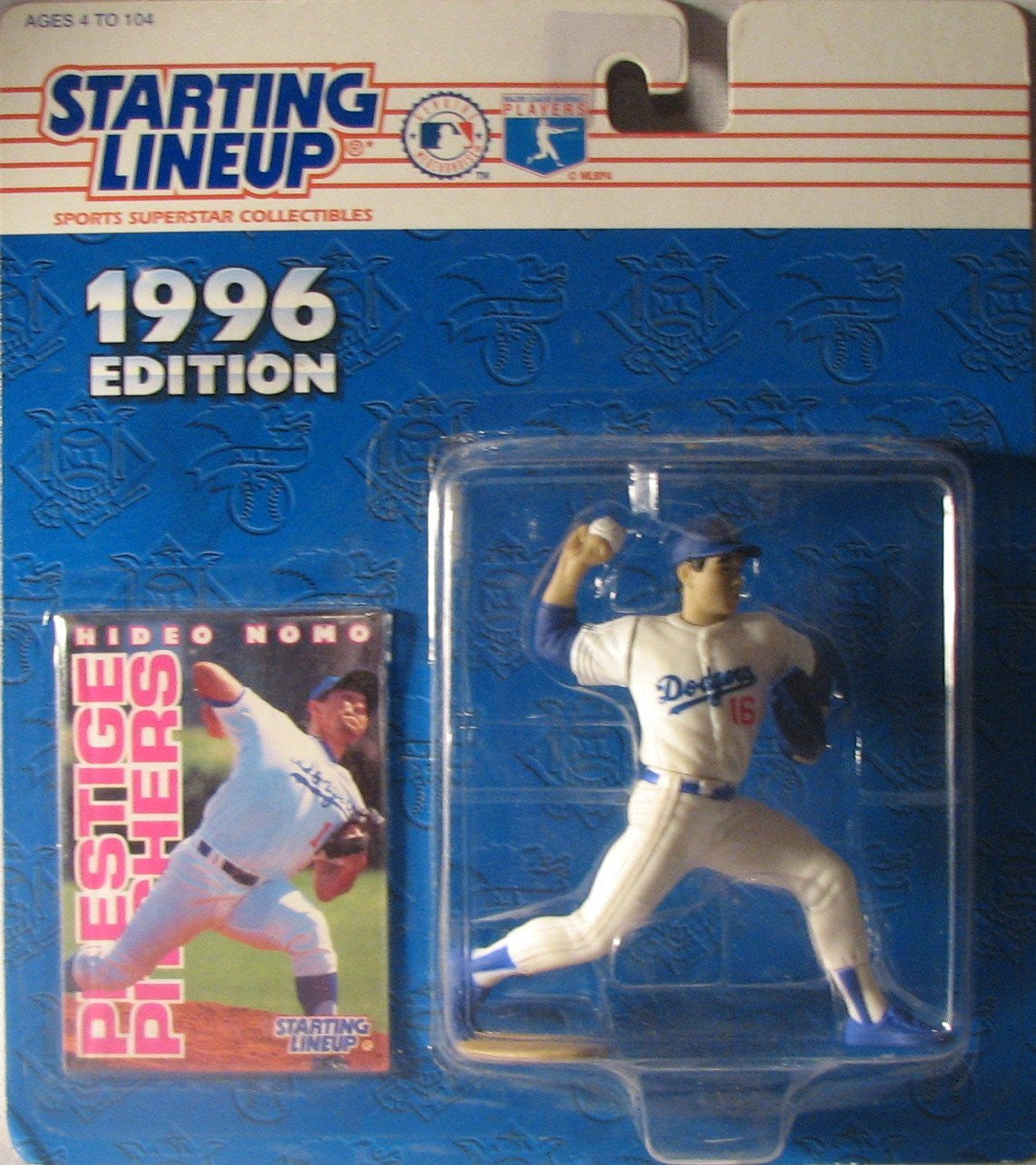 Hideo Nomo 1996 Starting Lineup Los Angeles Dodgers