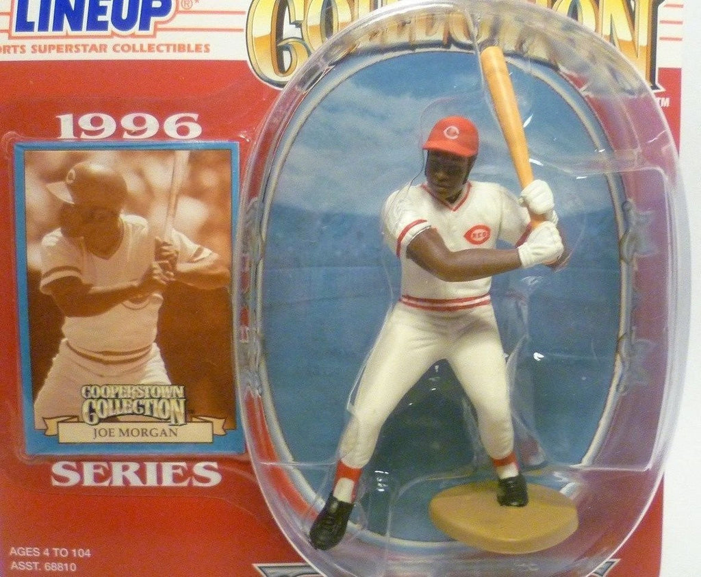 1996 JOE MORGAN - Starting Lineup - ``COOPERSTOWN`` - Figurine - Cincinnati Reds