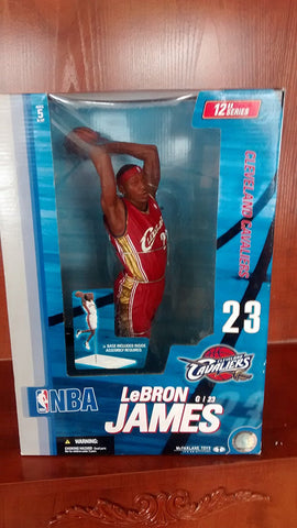 McFarlane Toys NBA Sports Picks 12 Inch Deluxe Action Figure LeBron James Cleveland Cavaliers