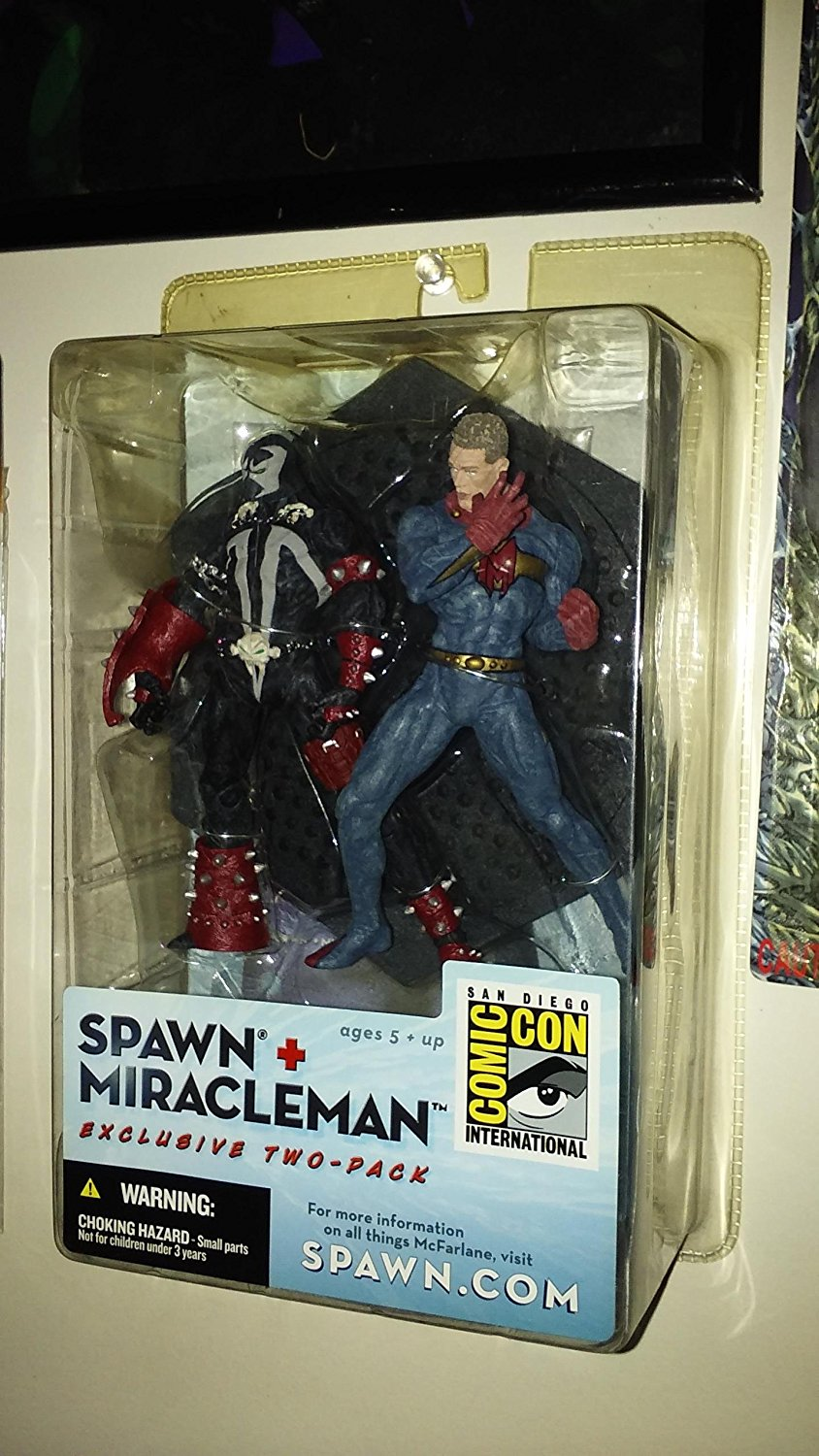 "4"" Spawn/Miracleman Action Figure 2-Pack by McFarlane Toys 2003 edition exclusive"