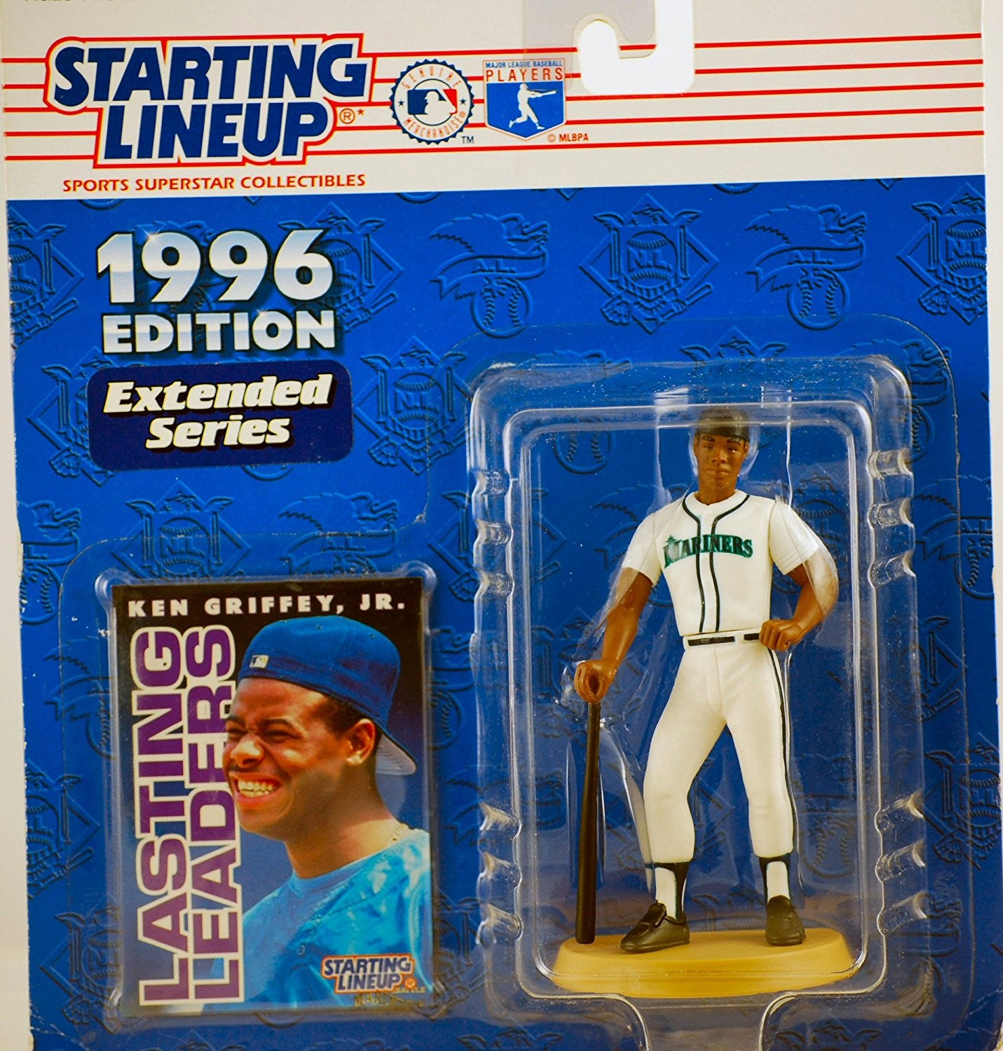 1996 Starting Lineup Ken Griffey Jr Extended Series Mariners