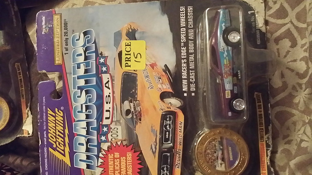 Johnny Lightning Dragsters USA Snowman Series 2 1:64