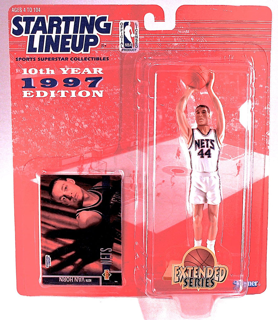 Keith Van Horn 1997 Extended Series NBA Starting Lineup Action Figure
