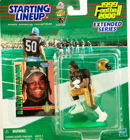 1999 Ricky Williams New Orleans Saints Starting lineup Extended Series