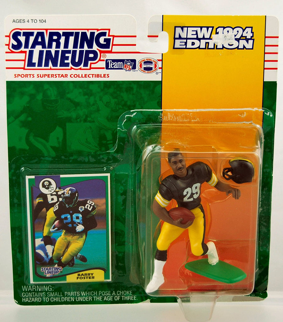 Starting Lineup NFL Football Barry Foster Pittsburgh Steelers 1994 Action Figure