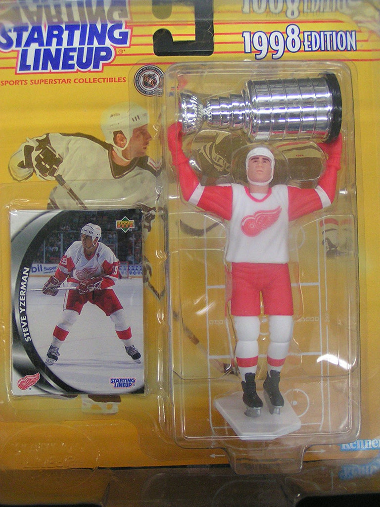 Starting Lineup Steve Yzerman 1998 Stanley Cup Edition Detroit Red Wings