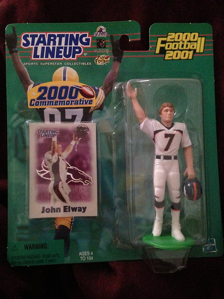 John Elway 2000 Commemorative Starting Lineup Action Figure Denver Broncos