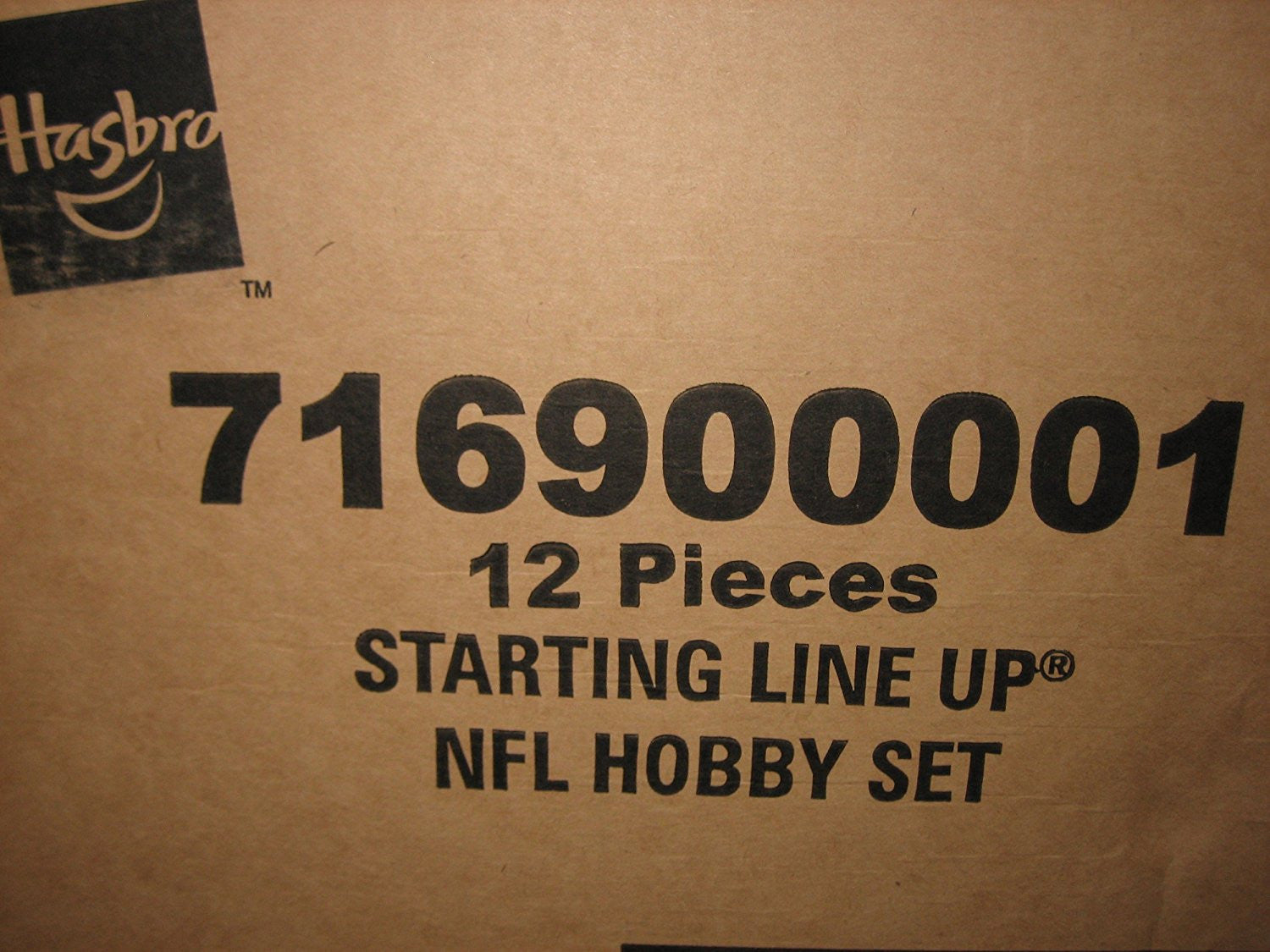 2000 Football NFL Hobby Factory Case of 12 Figures Sealed