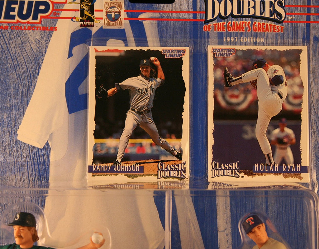 1997 MLB Starting Lineup Classic Doubles - Randy Johnson & Nolan Ryan
