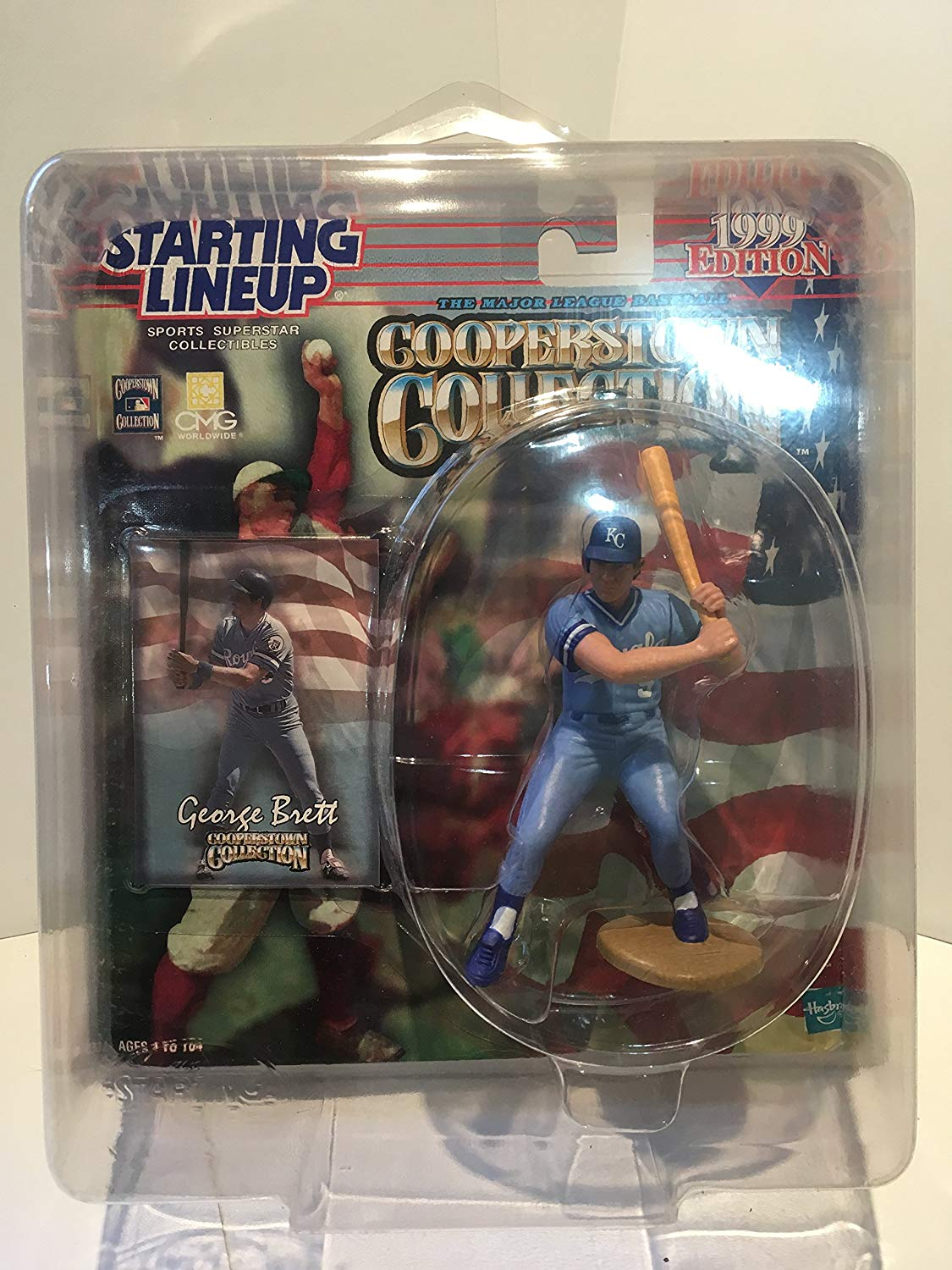 1999 George Brett MLB Cooperstown Collection Starting Lineup Figure