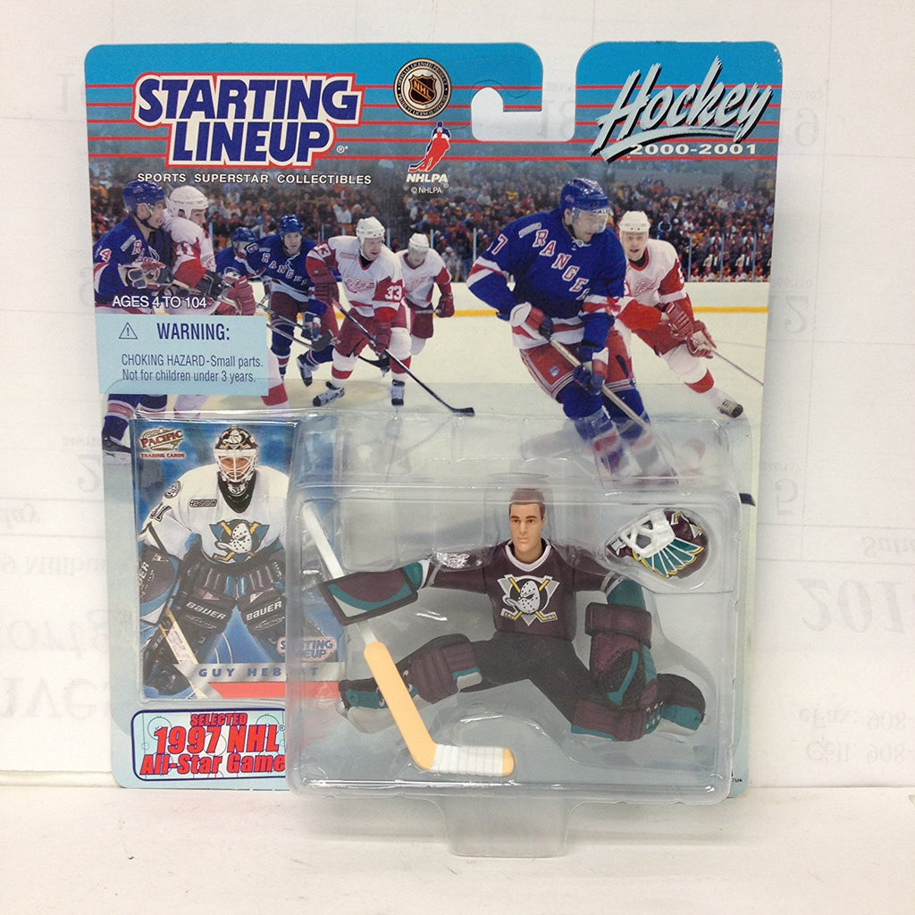 Starting Line Up NHL 2000-2001 Guy Hebert with 1997 Card