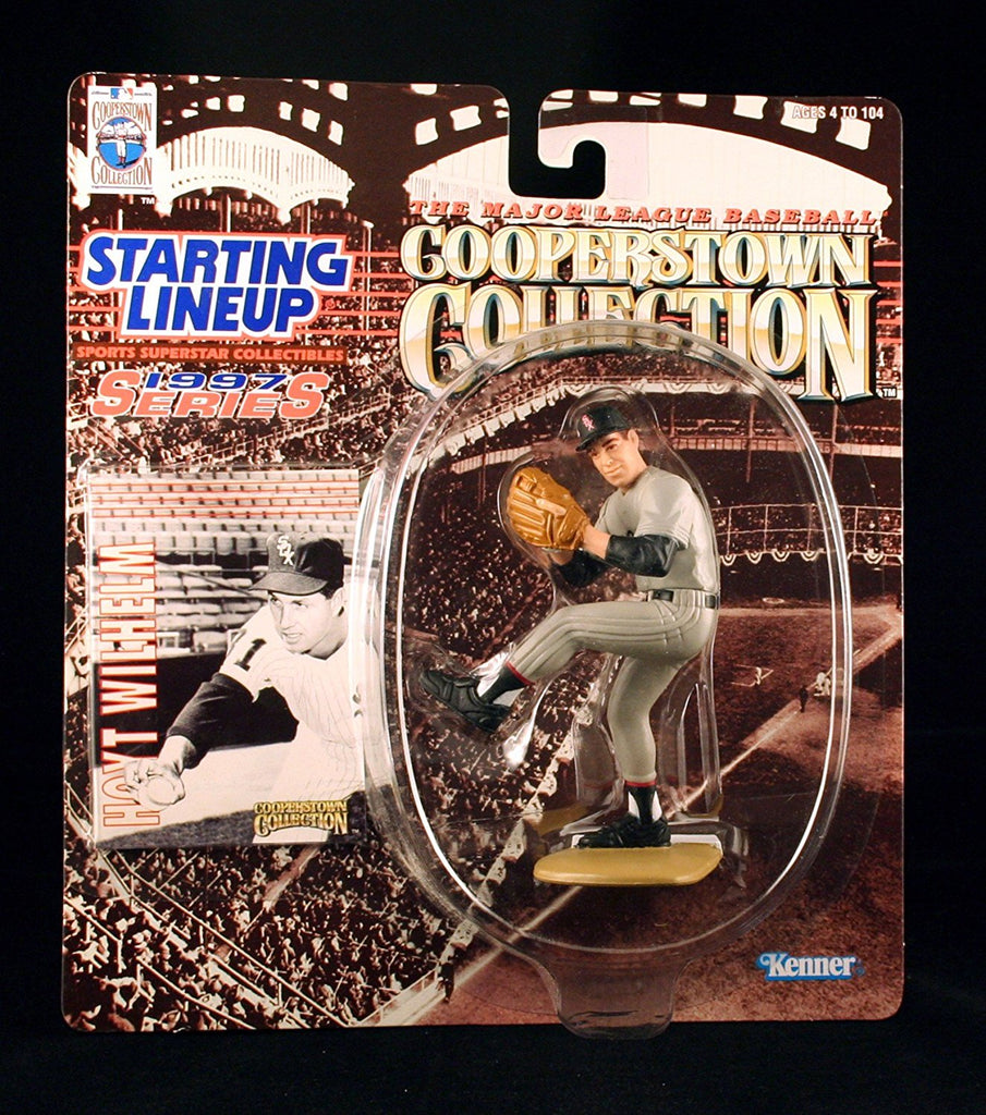 HOYT WILHELM / CHICAGO WHITE SOX 1997 MLB Cooperstown Collection Starting Lineup Action Figure & Exclusive Trading Card