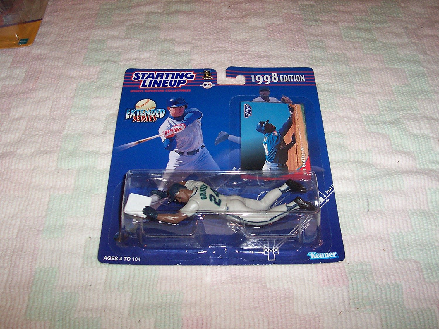 1998 MLB Starting Lineup Extended Series - Ken Griffey, Jr. - Seattle Mariners