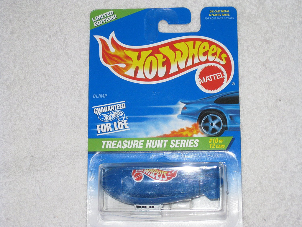 Hot Wheels Collector #587 Limited Treasure Hunt #10 of 12 Blimp