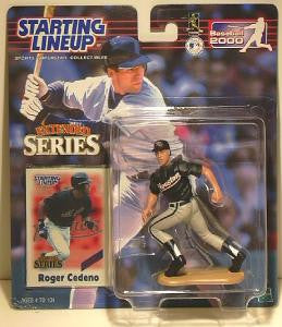 Roger Cedeno 2000 Extended Series Starting Line up Houston Astros