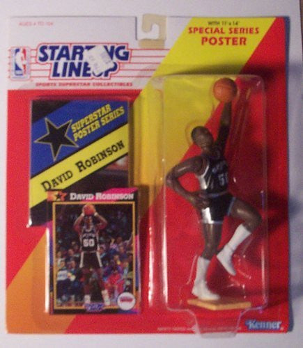 David Robinson 1992 NBA Starting Lineup San Antonio Spurs