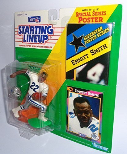 Emmitt Smith 1992 Starting Lineup Dallas Cowboys