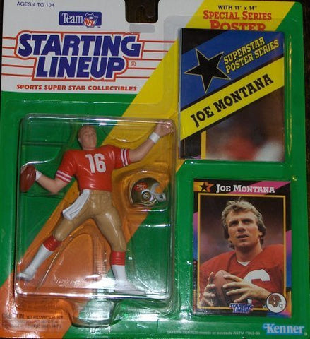 Joe Montana 1992 Starting Lineup San Francisco 49ers