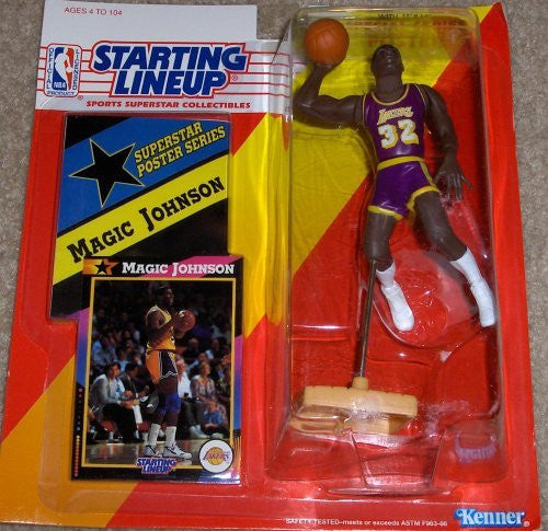 Magic Johnson 1992 Starting Lineup Los Angeles Lakers